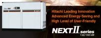 Máy nén khí trục vít Hitachi 132-160 Kw