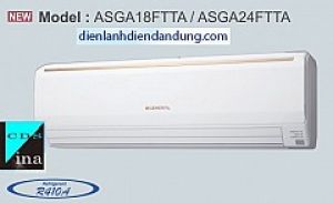ĐIỀU HÒA GENERAL 18.000 BTU 1 CHIỀU GAS R410A