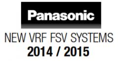 HỆ THỐNG FSV PANASONIC, HAI CHIỀU LẠNH & SƯỞI, 8 HP-60 HP