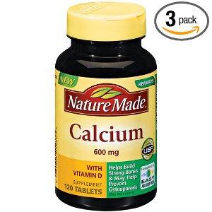 Nature Made Calcium with vitamin D