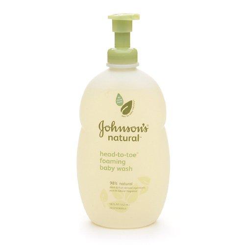 Sữa tắm Johnson's Baby Naturals 532ml