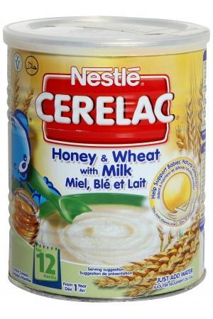 Bột ăn dặm Nestle mật ong ,lúa mì sữa