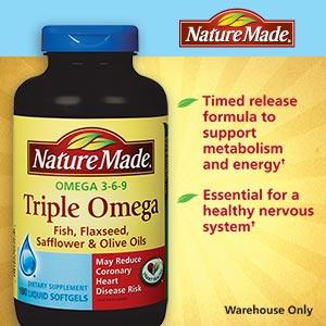 Nature Made -Omega 3- 6- 9