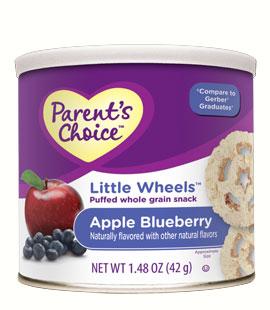Parent choice- bánh táo blueberry