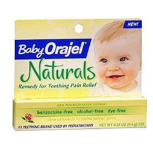 Baby Orajel-Kem bôi giảm đau khi mọc răng