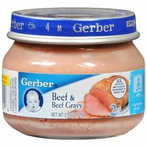 Gerber- beef