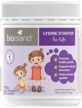 bột tăng chiều cao Bio Island Lysine Starter For KidS
