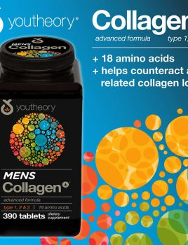 Collagen youtheory 390v- for men