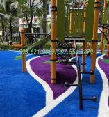 Cỏ nhân tạo nhiều màu khu công viên