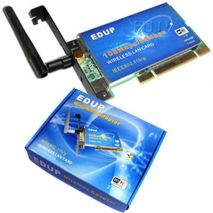 EDUP 108Mbps Wireless PCI Adapter (EP-7601)