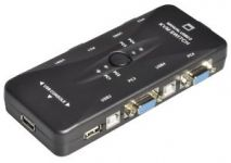 KVM Manual Switch 4 Port cổng USB