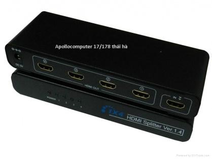 Bộ chia HDMI Splitter 1 ra 4 cổng
