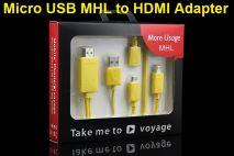 Cáp MHL to HDMI Z-tek WT007