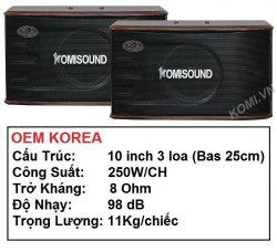 SPEAKER KOMISOUND KM-206