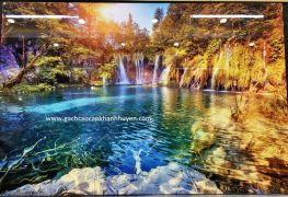 tranh hồ 7 màu