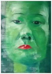 Green Long Face
