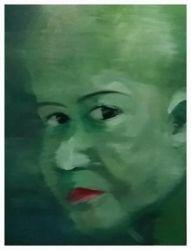 Green Blank Face