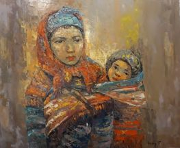 Ethnic Mother And Child