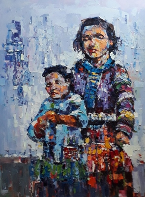 Ethnic Mother And Child 05