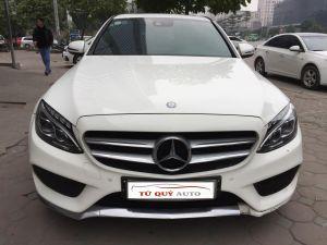 Xe Mercedes Benz C250 AMG 2015 - Trắng