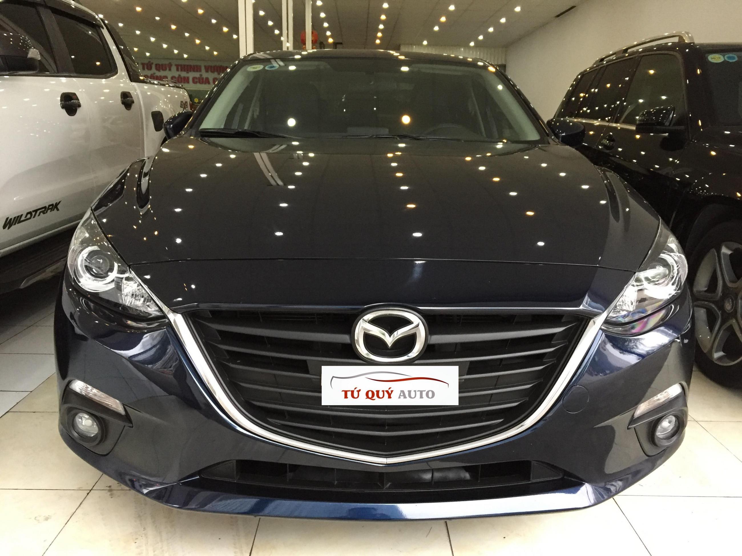 Xe Mazda 3 Sedan 1.5AT 2016 - Xanh CavanSite