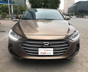 Xe Hyundai Elantra GLS 2.0AT 2017 - Nâu