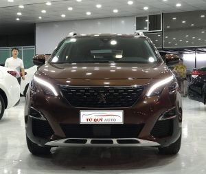 Xe Peugeot 3008 1.6AT 2018 - Nâu