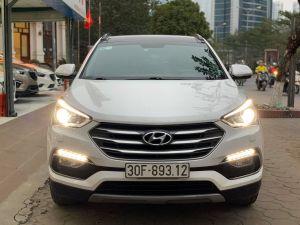 Xe Hyundai Santa Fe 2.2CRDi 2017 - Trắng