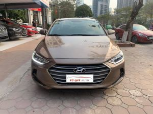 Xe Hyundai Elantra 1.6AT 2016 - Nâu