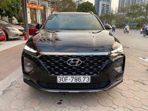 Xe Hyundai Santa Fe 2.4AT Premium 2019 - Đen