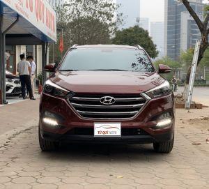 Xe Hyundai Tucson 2.0AT 2018 - Đỏ Mận