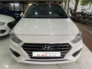 Xe Hyundai Accent 1.4MT 2018 - Trắng