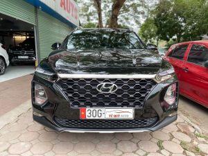 Xe Hyundai Santa Fe Premium 2.4AT 2019 - Đen