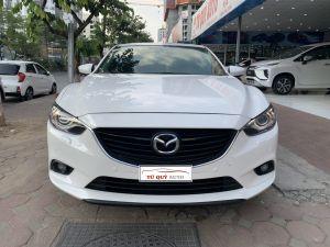 Xe Mazda 6 2.5AT 2014 - Trắng