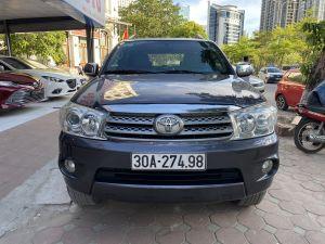Xe Toyota Fortuner 2.7V 4x4 AT 2009 - Xám