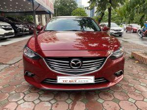 Xe Mazda 6 2.5AT 2015 - Đỏ