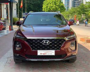 Xe Hyundai SantaFe 2.4AT Premium 2019 - Đỏ