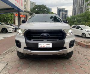 Xe Ford Ranger 2.0 Biturbo 2018 ĐK 2019 - Trắng