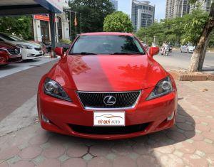 Xe Lexus IS 250 2.5AT 2007 - Đỏ