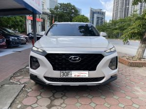 Xe Hyundai SantaFe 2.4AT 2019 - Trắng