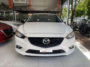 Xe Mazda 6 2.0AT 2016 ĐK 2017 - Trắng