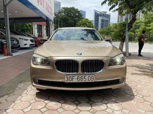 Xe BMW 7 Series 730Li 2010 - Vàng Cát