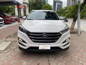 Xe Hyundai Tucson 2.0AT 2018 - Trắng Tiêu Chuẩn