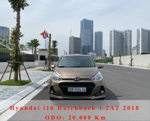 Xe Hyundai i10 1.2AT 2018 - Vàng Cát
