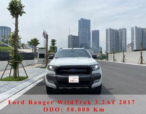 Xe Ford Ranger Wildtrak 3.2L 4x4 AT 2017 - Trắng