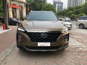 Xe Hyundai SantaFe Premium 2.2CRDi 2019 - Vàng Cát