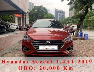 Xe Hyundai Accent 1.4AT 2019 - Đỏ Tiêu Chuẩn