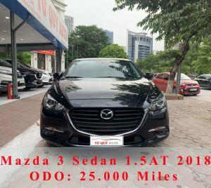 Xe Mazda 3 1.5AT 2018 - Đen