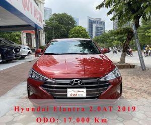 Xe Hyundai Elantra 2.0AT 2019 - Đỏ