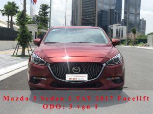 Xe Mazda 3 Sedan 1.5AT 2017 - Facelift Đỏ